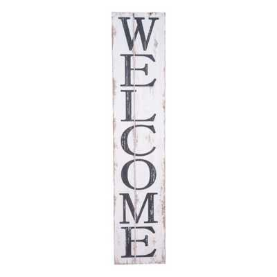 Foreside Home and Garden Welcome Wall Art