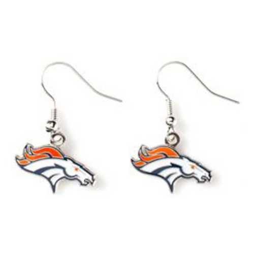 Aminco International Denver Broncos Dangle Earring