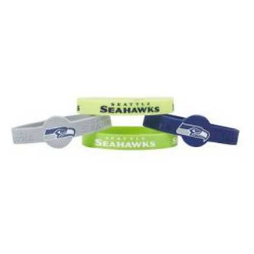 Aminco International Seattle Seahawks 4pk Silicone Bracelet