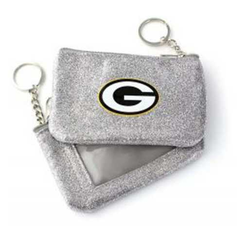 Aminco International Women's Green Bay Packers Sparkle Coin Purse