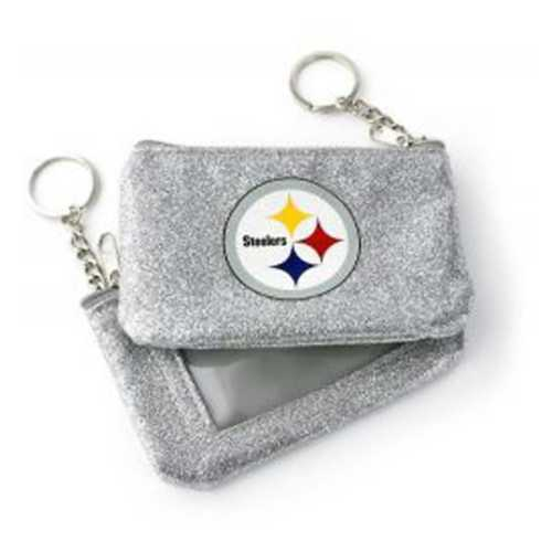 Aminco International Women's Pittsburgh Steelers Sparkle Coin Purse