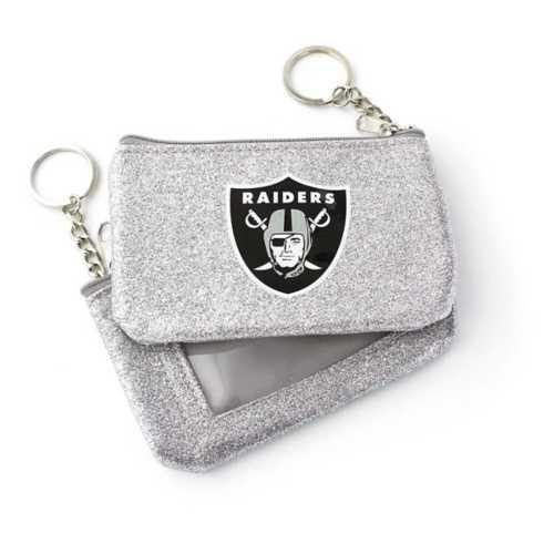 Aminco Las Vegas Raiders Sparkle Coin Purse