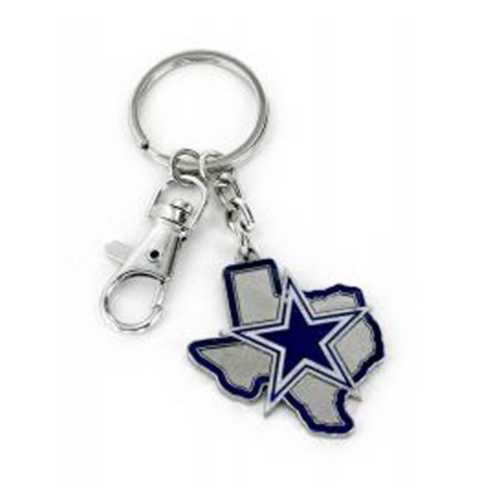 Aminco International Dallas Cowboys State Keychain