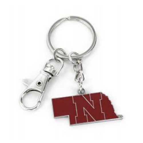 Aminco International Nebraska Cornhuskers State Key Ring