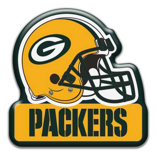 Aminco Green Bay Packers Helmet Magnet