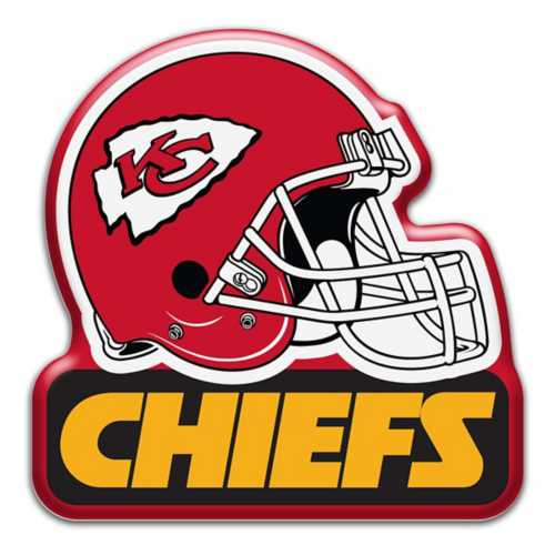 Aminco Kansas City Chiefs Helmet Magnet