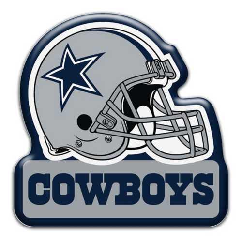 Aminco Dallas Cowboys Helmet Magnet