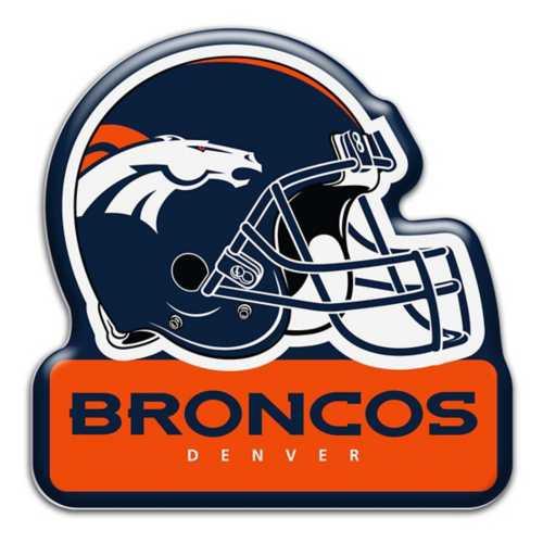 Aminco Denver Broncos Helmet Magnet