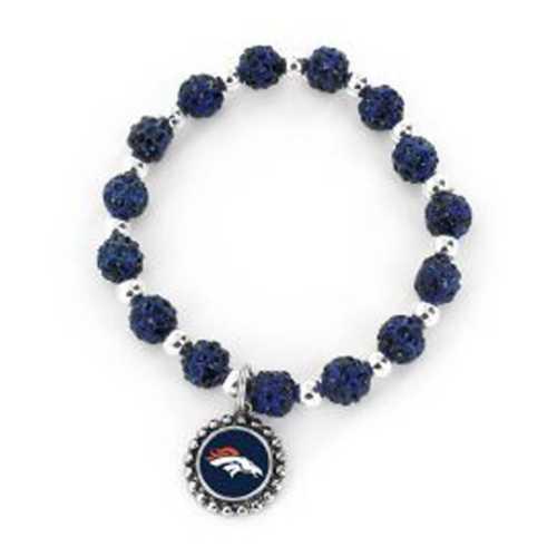 Aminco International Denver Broncos Bead Bracelet