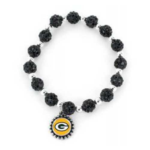Aminco International Green Bay Packers Bead Bracelet