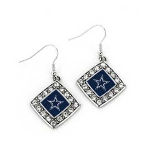 Aminco International Dallas Cowboys Charmed Earring