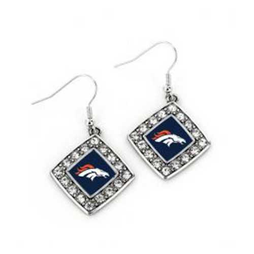 Aminco International Denver Broncos Charmed Earring