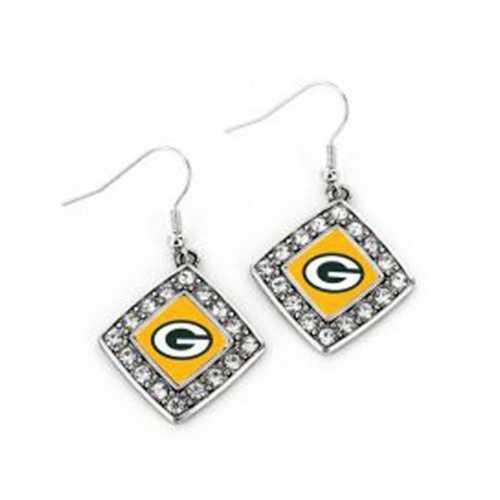Aminco International Green Bay Packers Charmed Earring