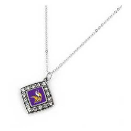 Aminco International Minnesota Vikings Charmed Necklace