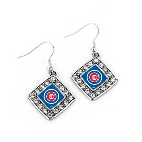 Aminco Chicago Cubs Charmed Earrings