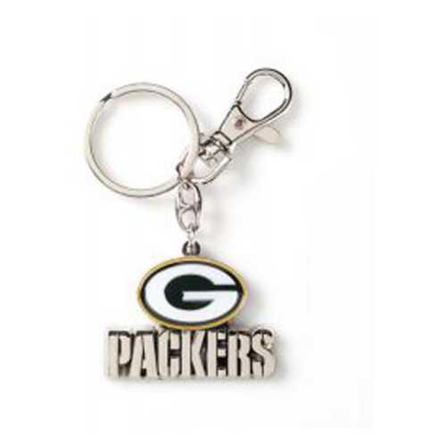 Aminco International Green Bay Packers Heavyweight Key Ring