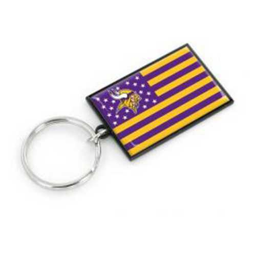 Aminco International Minnesota Vikings Americana Keychain