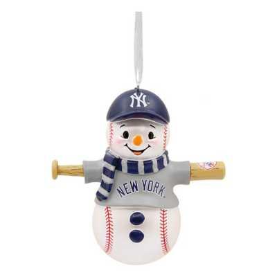 Hallmark New York Yankees Bat Snowman Ornament