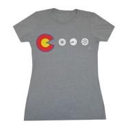 Women's Aksels Colorado Dots Short Sleeve Shirt