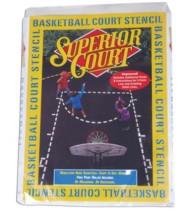 Goalsetter Basketball Court Stencil
