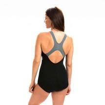 Women's Dolfin AQUASHAPE Color Block Conservative Lap Swimsuit