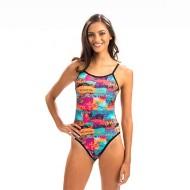 Women's Dolfin Bellas Cancun Reversible String Back Swimsuit