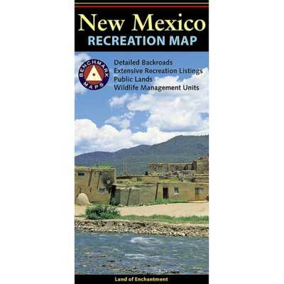 Benchmark New Mexico Recreation Map