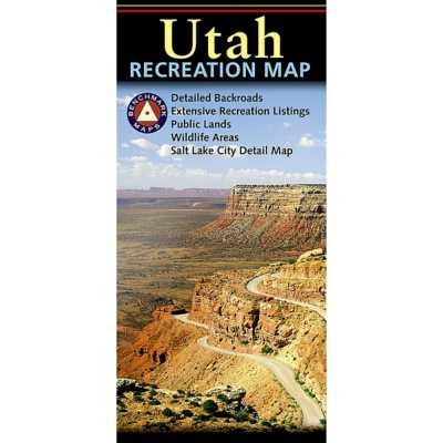 Benchmark Utah Recreation Map