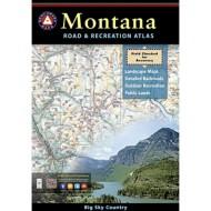 Benchmark Montana Road and Recreation Atlas