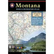 Benchmark Montana Road and Recreation Atlas