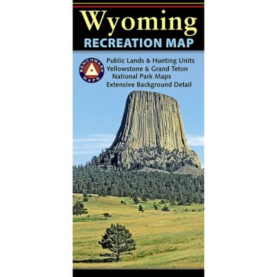 Benchmark Wyoming Recreation Map