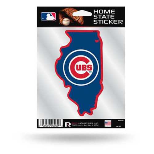 Rico Chicago Cubs Home State Sticker