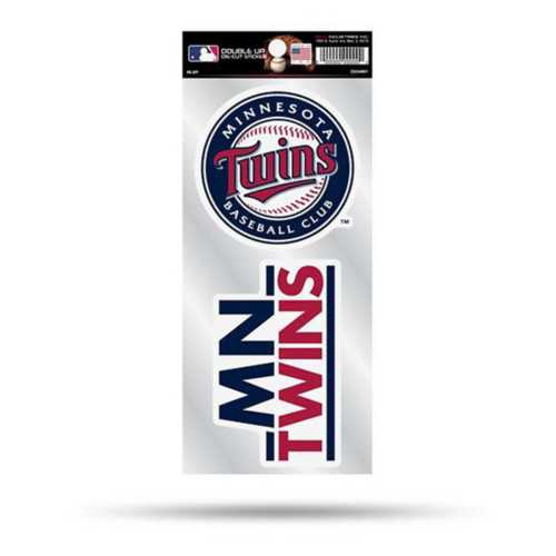Rico Minnesota Twins Double Up Decals