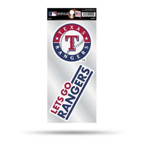 Rico Texas Rangers Double Up Decals