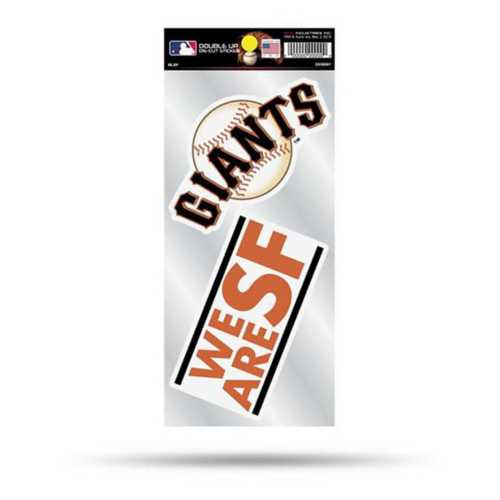 Rico San Francisco Giants Double Up Decals