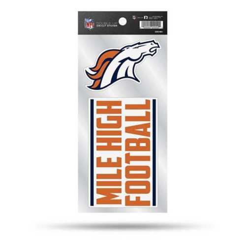 Rico Denver Broncos Double Up Decals