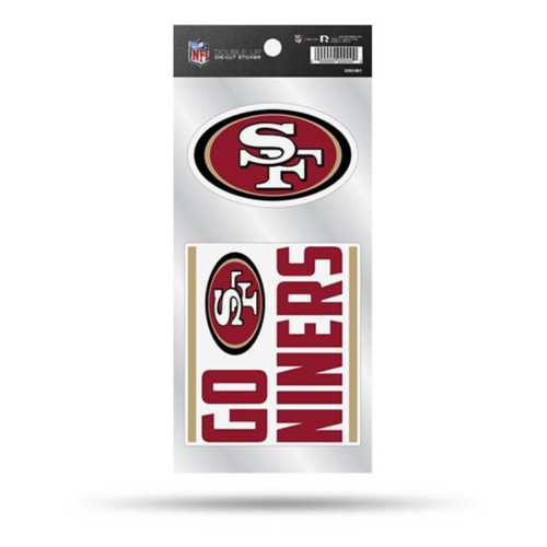 Rico San Francisco 49ers Double Up Decals