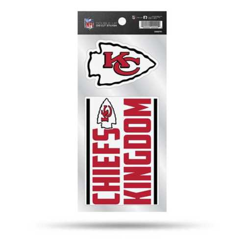 Rico Kansas City Chiefs Double Up Decals