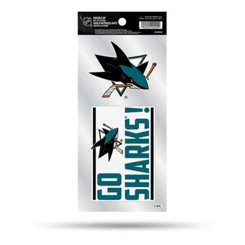 Rico San Jose Sharks Double Up Decals