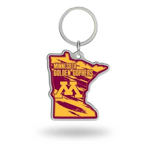 Rico Minnesota Golden Gophers Home State Leather Key Chain