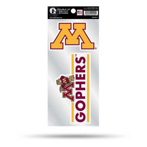 Rico Minnesota Golden Gophers Double Up Decal