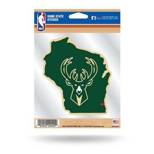 Rico Milwaukee Bucks Home State Sticker