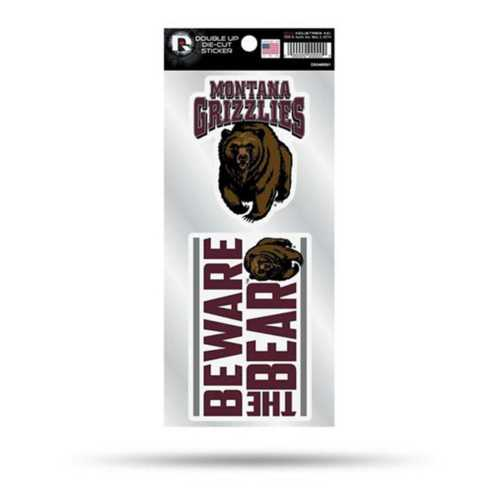 Rico Montana Grizzlies Double Up Decals