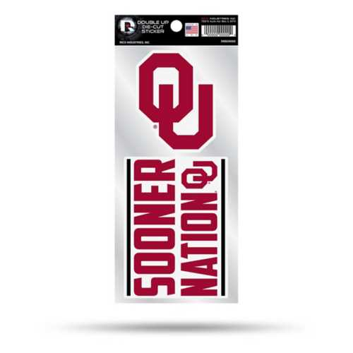 Rico Oklahoma Sooners Double Up Decal