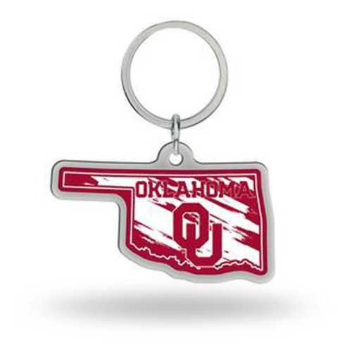 Rico Oklahoma Sooners Home State Key Chain