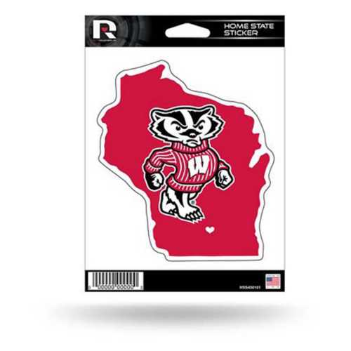 Rico Wisconsin Badgers Home State Sticker