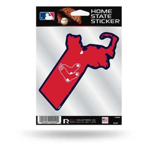 Rico Boston Red Sox Home State Sticker