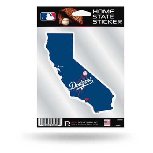 Rico Los Angeles Dodgers Home State Sticker