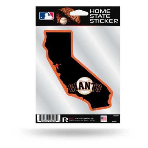 Rico San Francisco Giants Home State Sticker