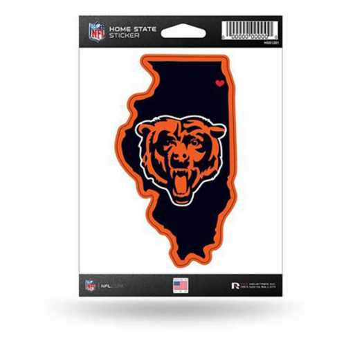 Rico Chicago Bears Home State Decal
